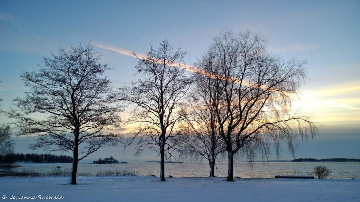 Merenranta auringonlasku