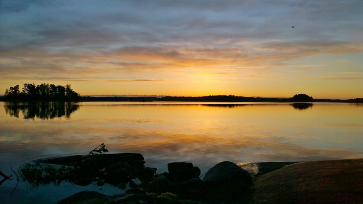 Tammisaaren saariston auringonnousu