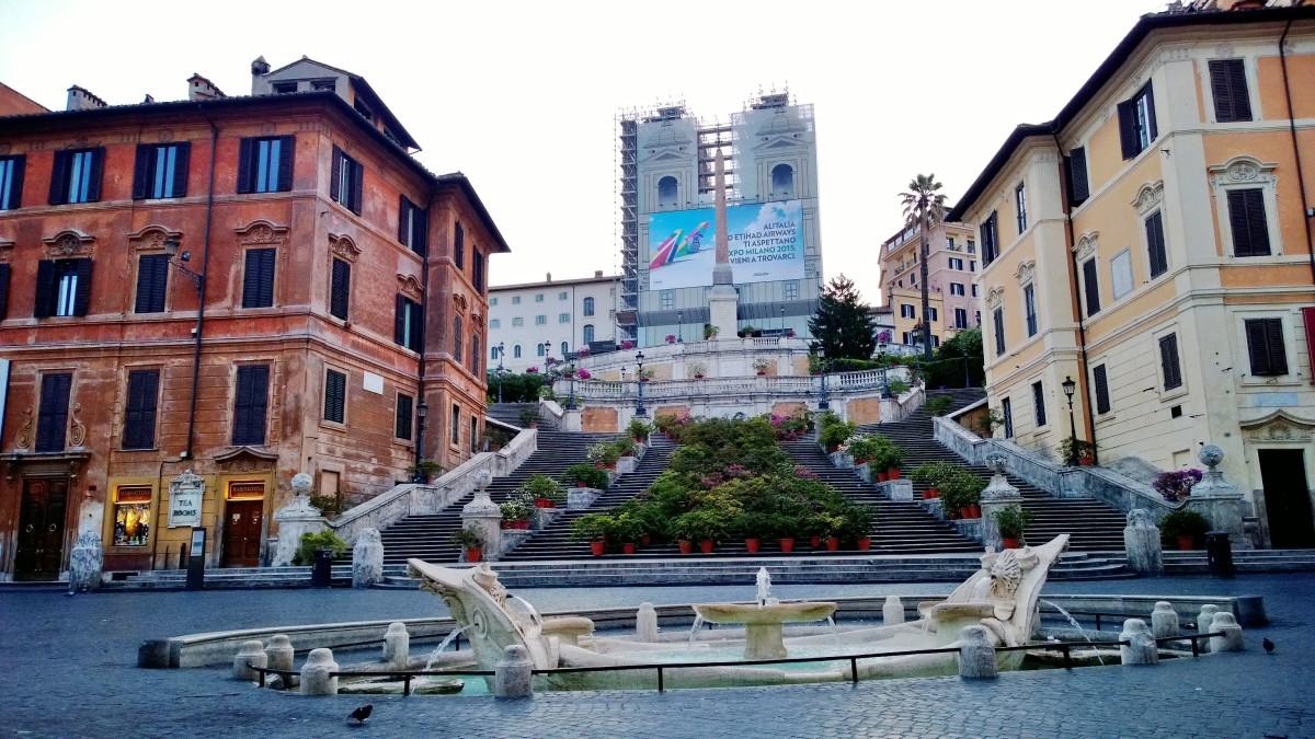 Rooma Espanjalaiset portaat