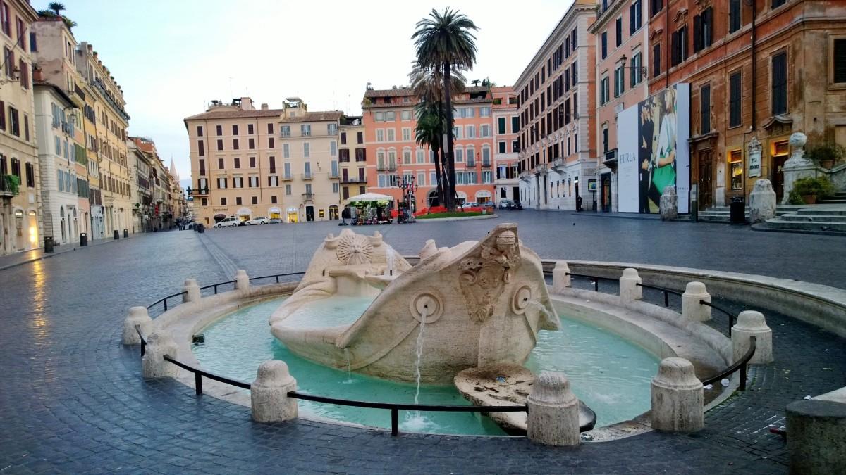 Rooma Piazza di Spagna