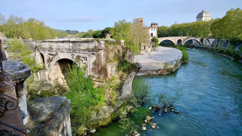 Rooma Tiberjoki Ponte Rotto