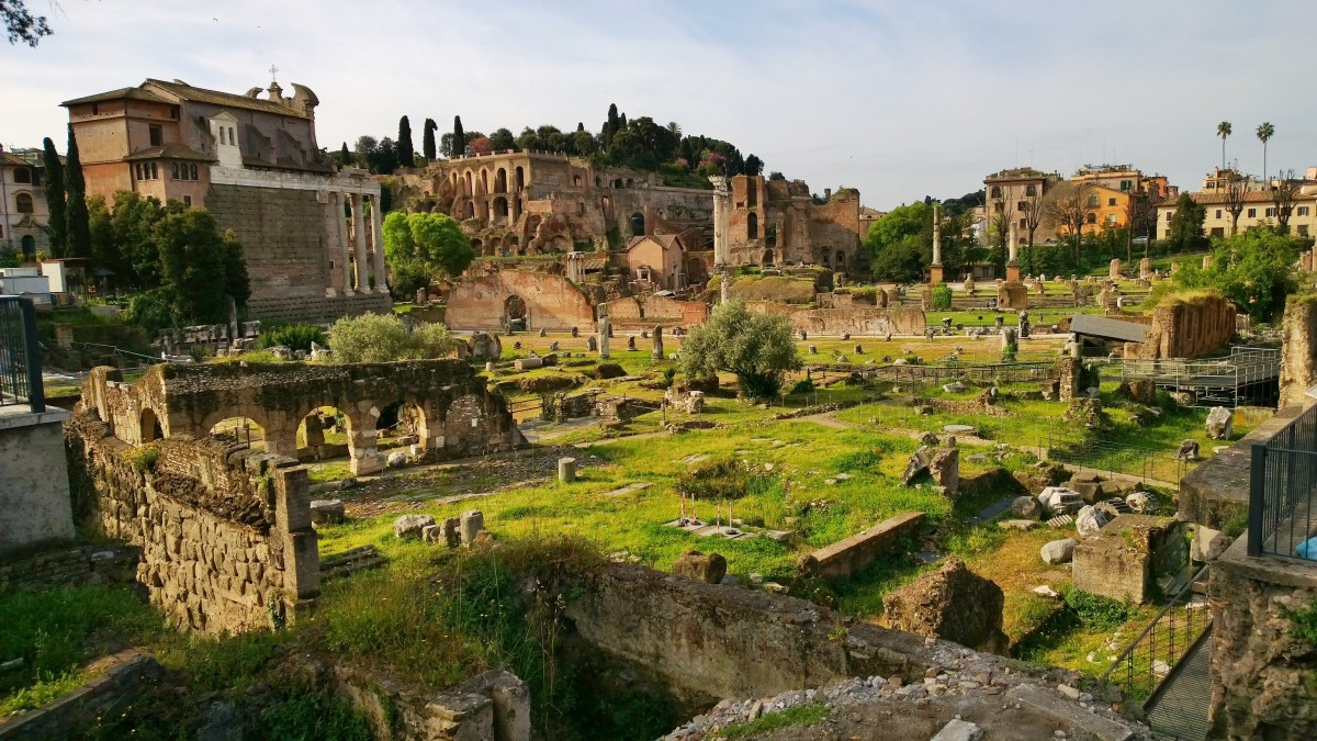 Rooma Forum Romanum