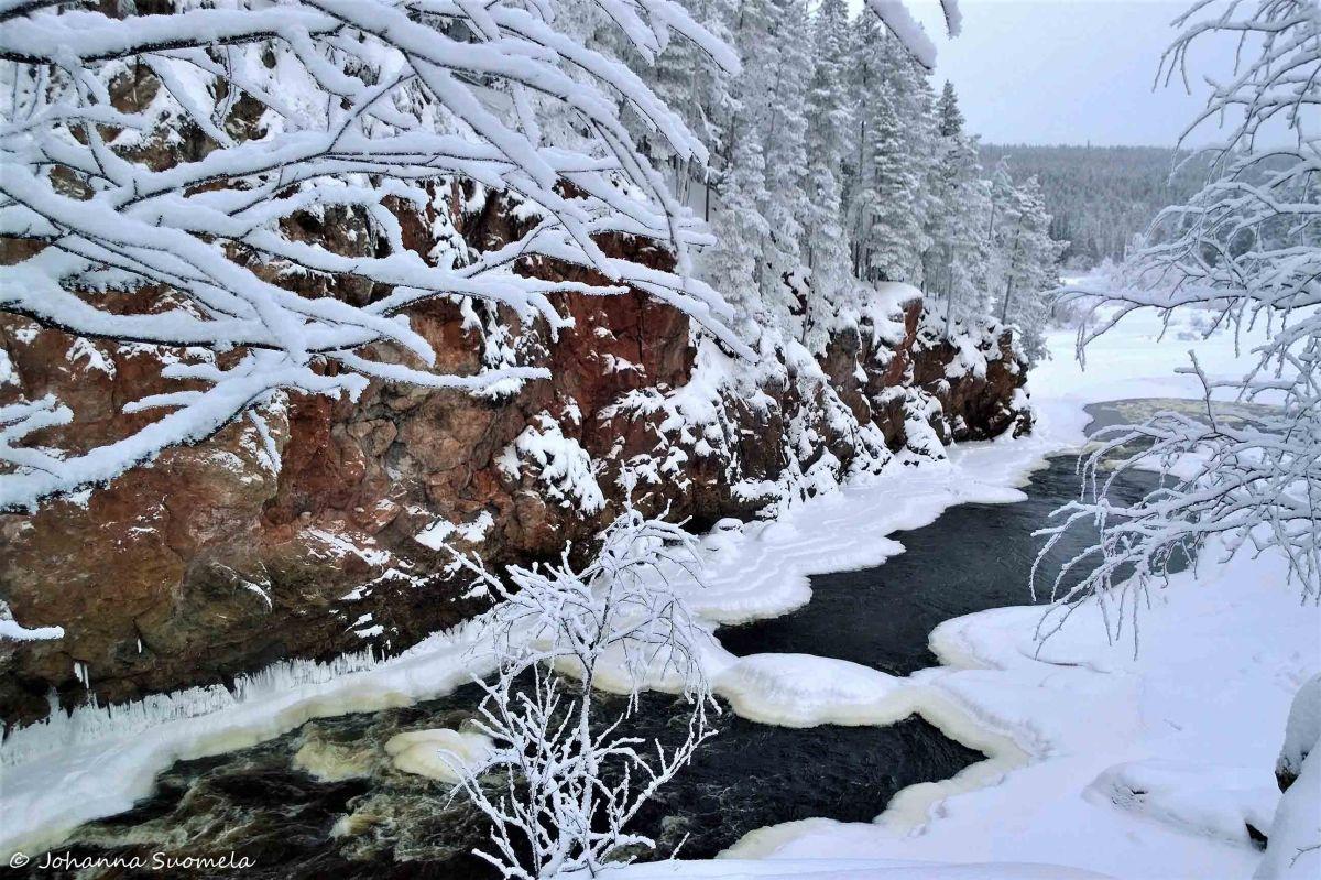 Kiutakongas talvella