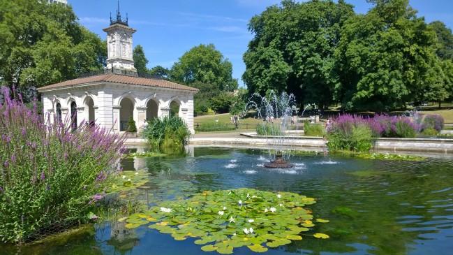 Italian garden Lontoo
