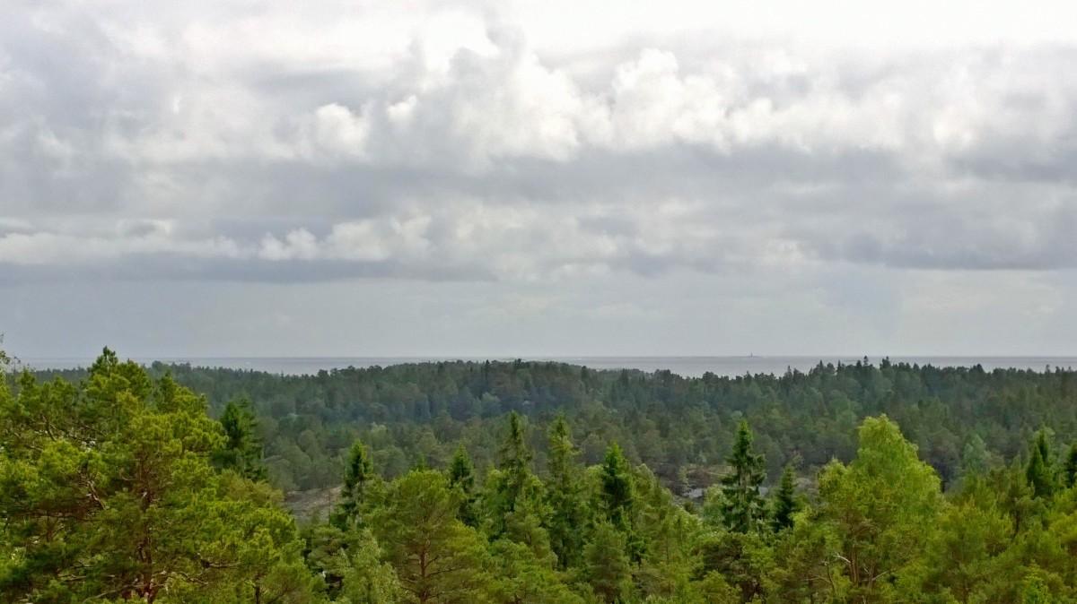 Tammisaaren saariston kansallispuisto, maisema näkötornista