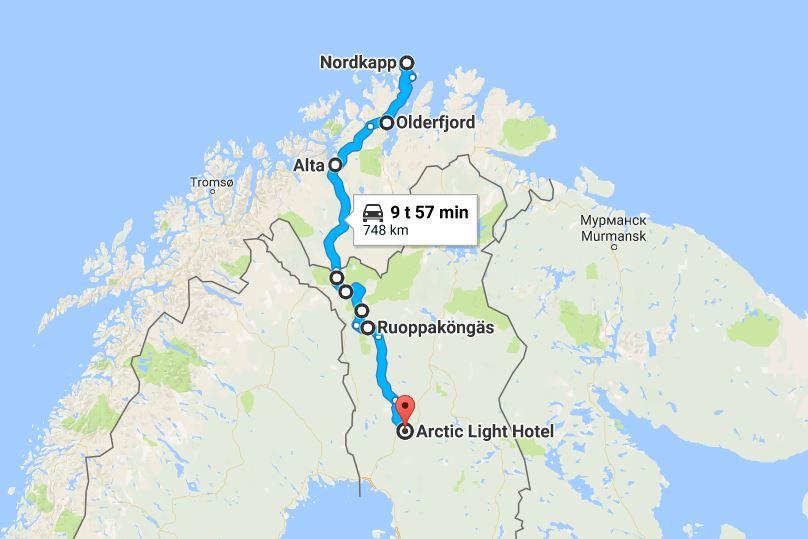 Nordkapp Arctic Light Hotel Rovaniemi