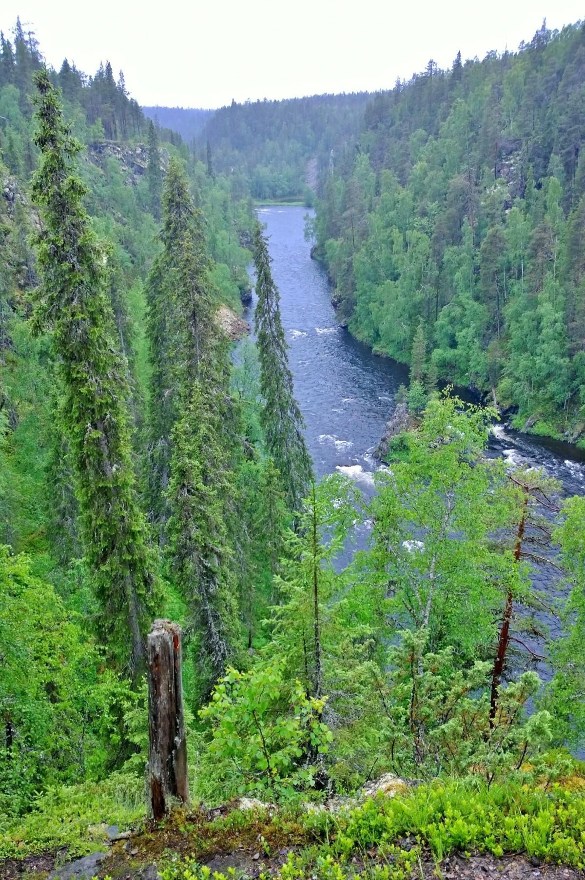 Pieni Karhunkierros, Kalliosaari