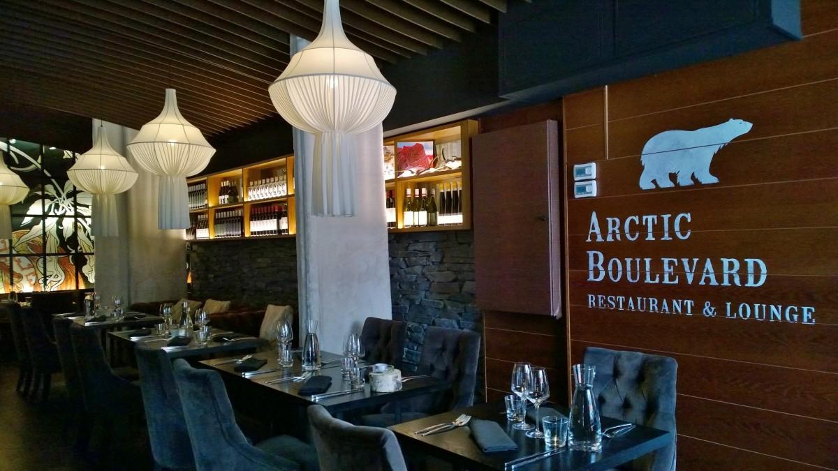 Arctic light hotel ravintola