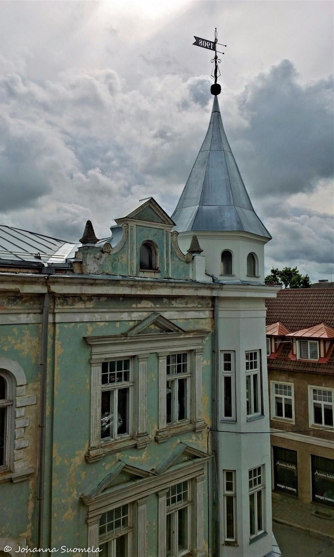 Grand Hotel Viljandi maisema