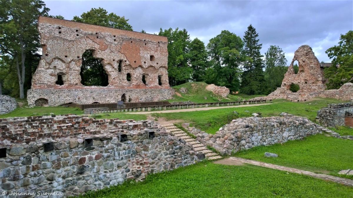 Viljandi ritarilinnan rauniot