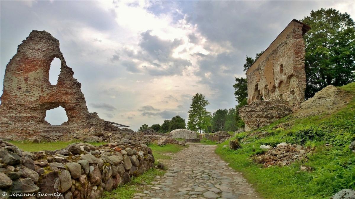 Viljandin ritarilinnan rauniot