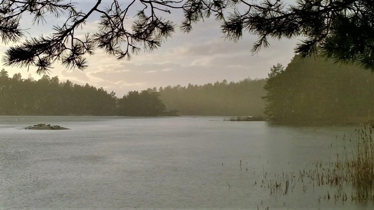 Uusivuosi saaristo vesisade