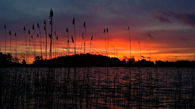 Auringonnousu saaristo