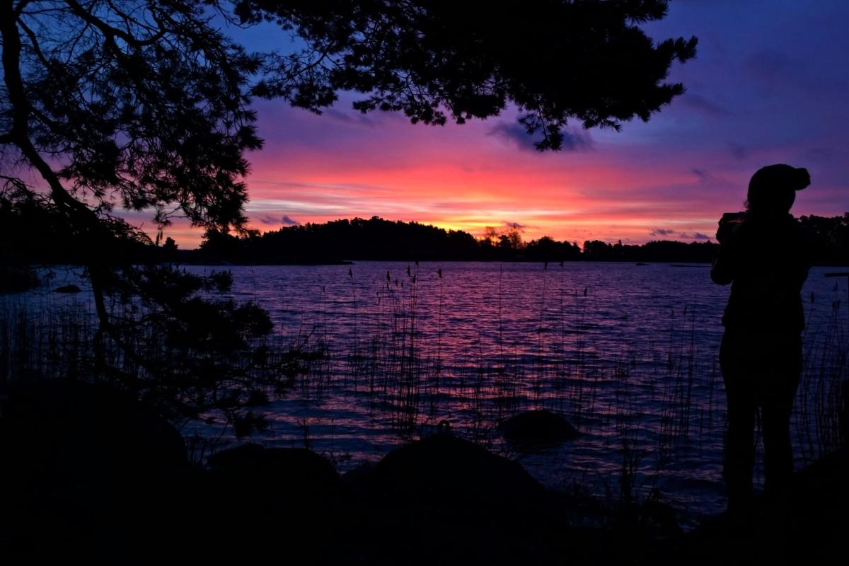 Auringonnousu uusivuosi saaristo
