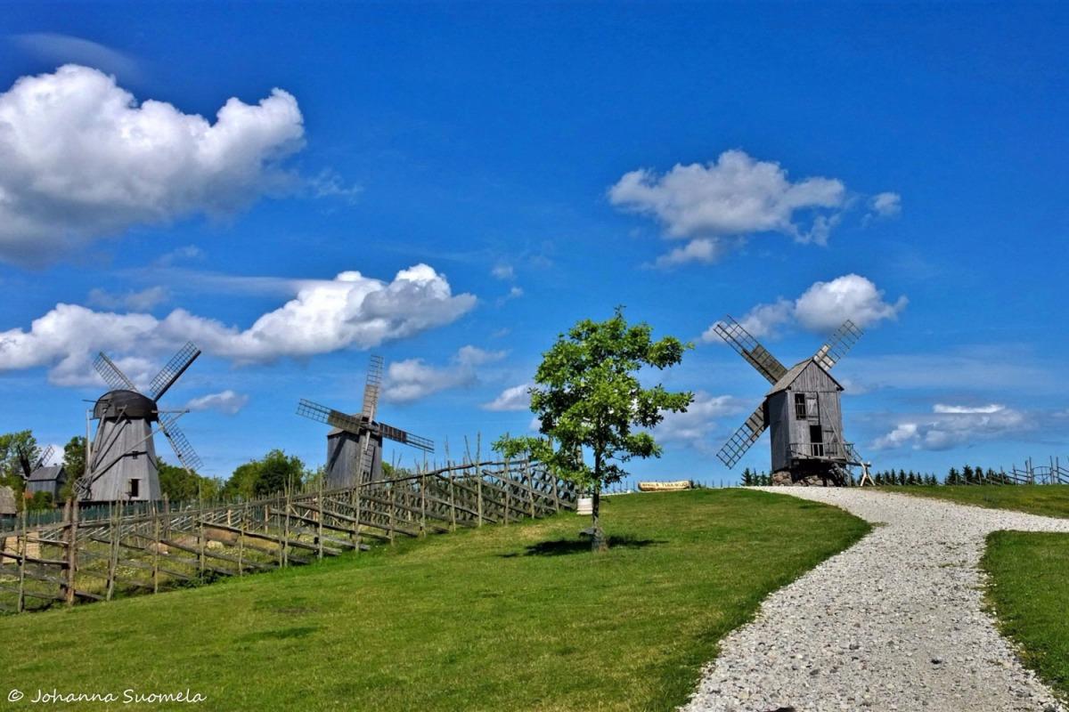Saarenmaa Anglan tuulimyllykyla