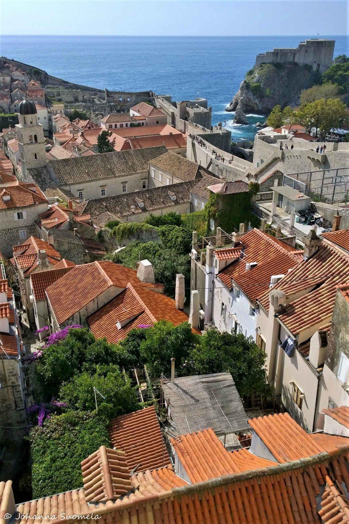 Dubrovnikin kaupungin muurit