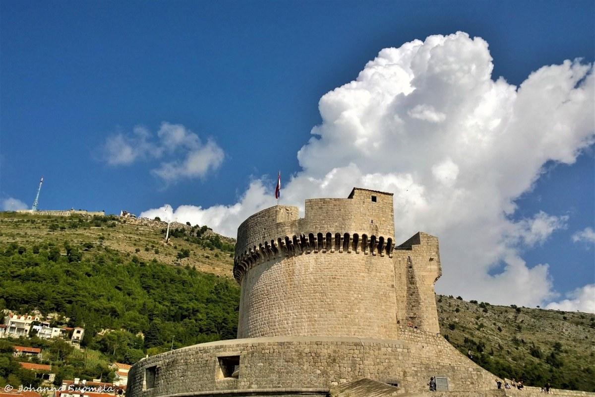 Dubrovnikin vanhan kaupungin muuri