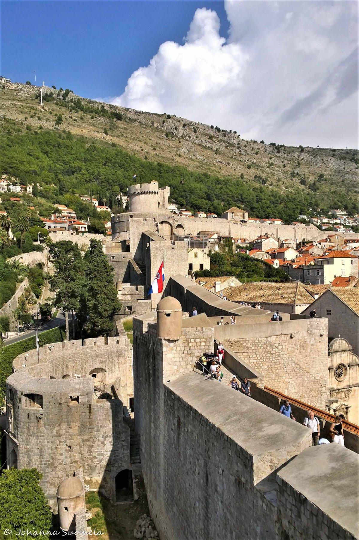 Dubrovnikin vanhan kaupungin muurit