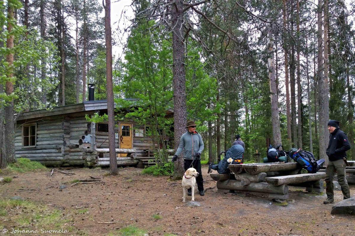 Karhunkierros Jussinkämppä