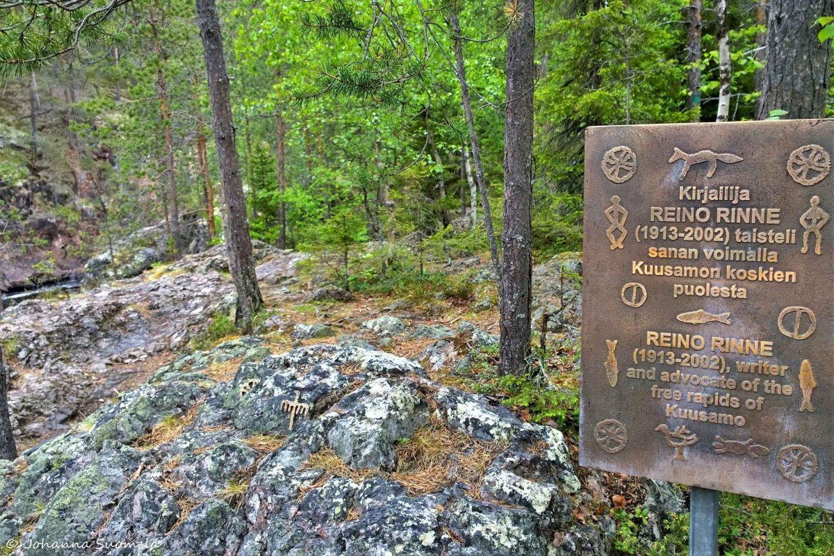Kiutaköngäs Reino Rinne