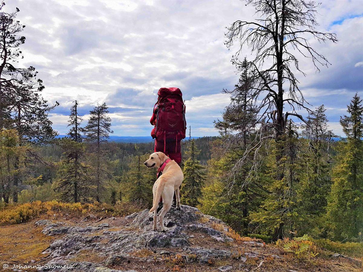 Karhunkierros Kuusamo Johanna ja Jetu -2