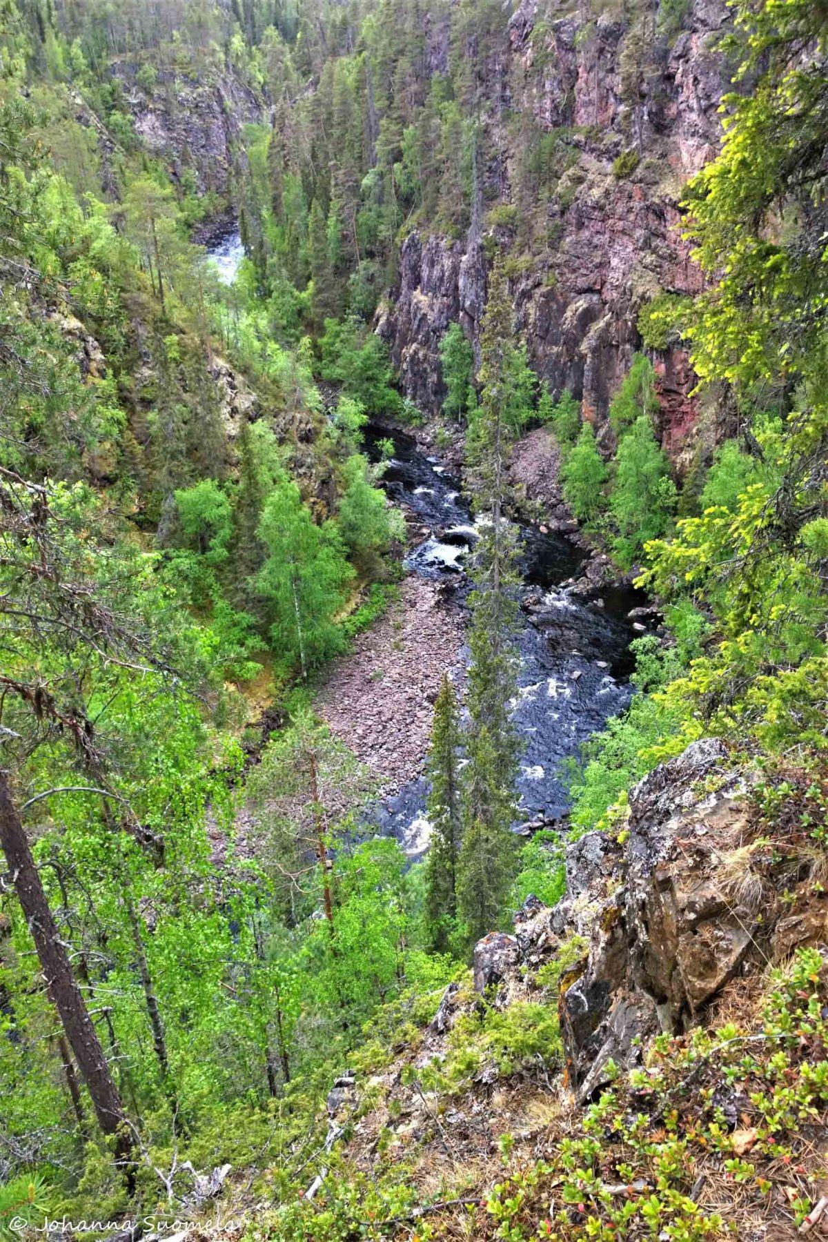 Karhunkierros Oulangan kanjoni