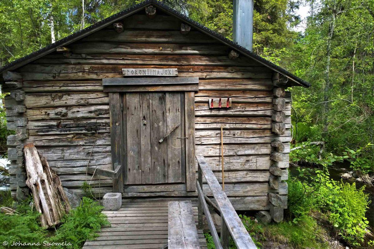 Karhunkierros Porontimajoen autiotupa 20180613122034-2