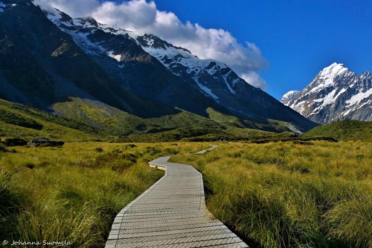 Uusi-Seelanti Mount Cook