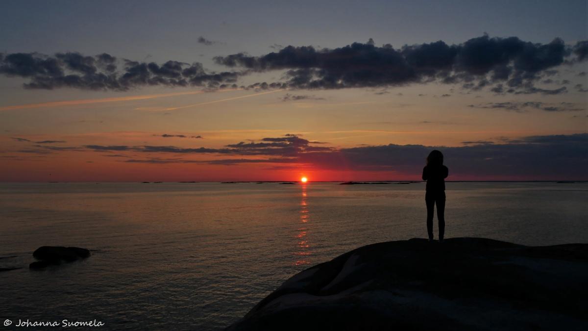 Bengtskar auringonlasku