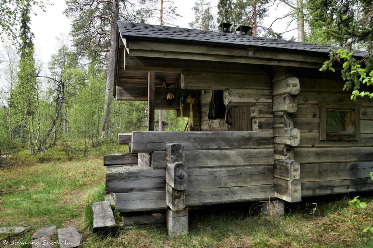 Korvatunturi Vieriharjun sauna UKK-puisto