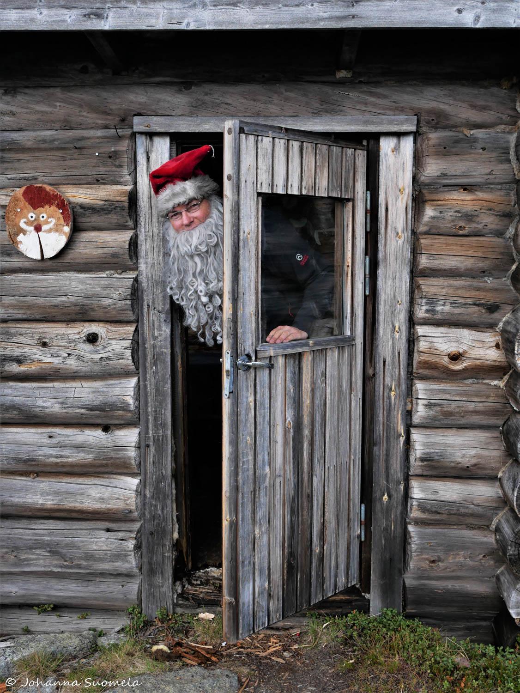 Korvatunturi vaellus UKK-puisto joulupukki
