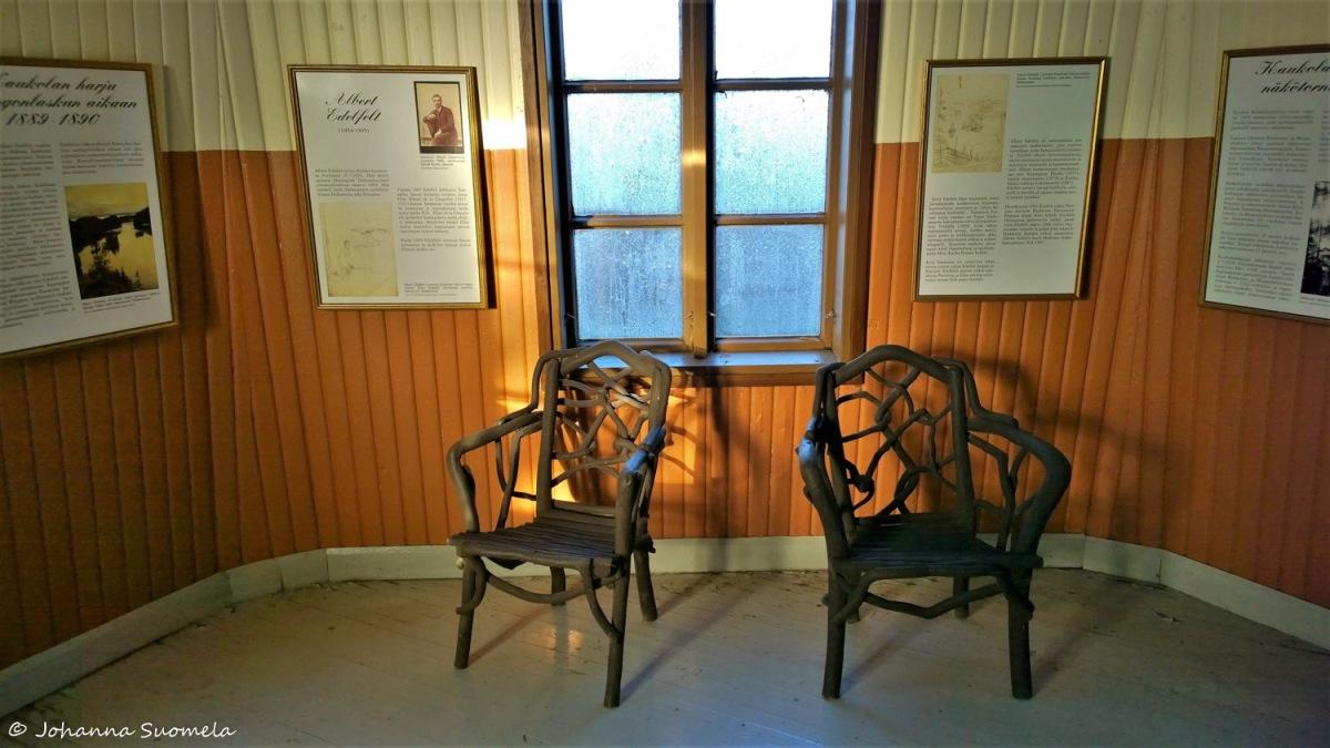 Saaren kansanpuisto Kaukolanharjun näkötorni